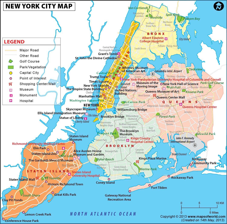 New Yorkin Metron Alueella Kartta Nyc Metron Alueella Kartta